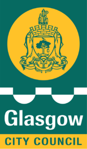 The logo of Glasgow City Council