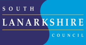 The logo of South Lanarkshire Council