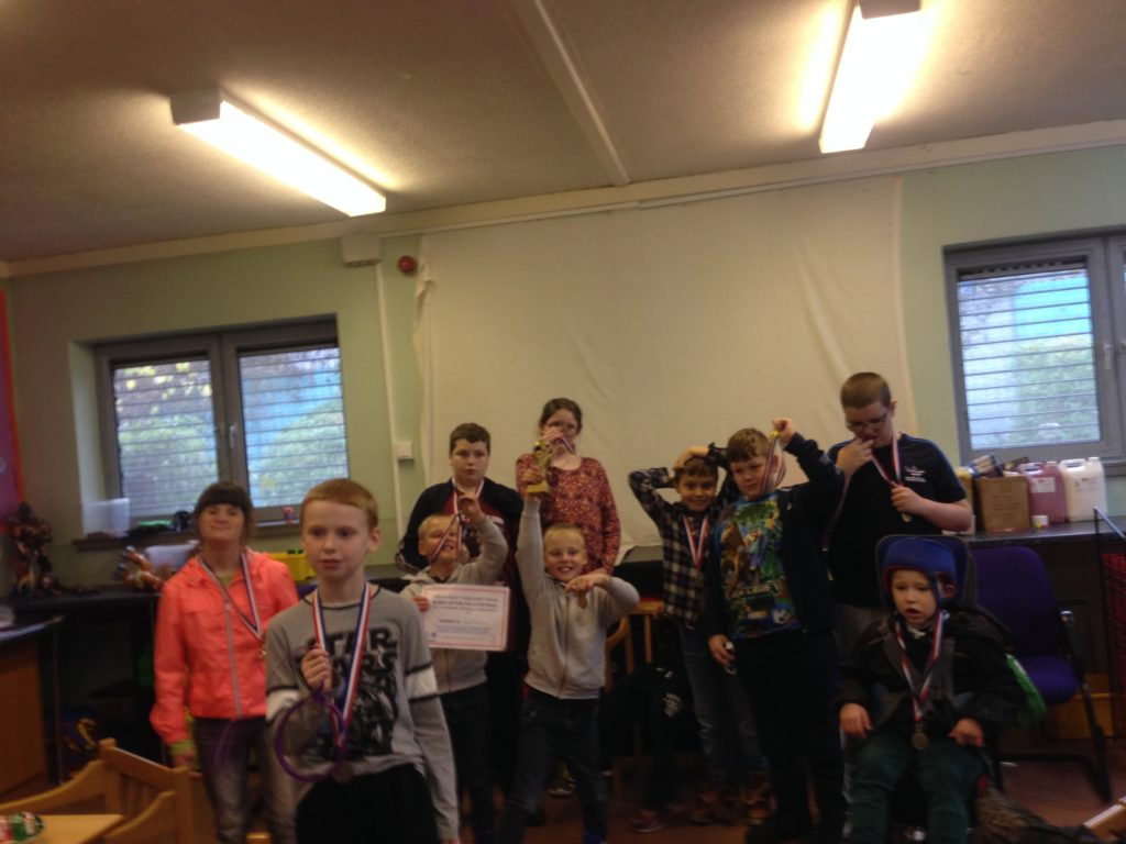 Photo of children who participated in the COJAC playscheme