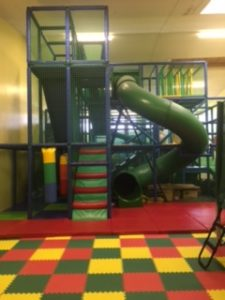 Overview of the softplay area in the COJAC centre