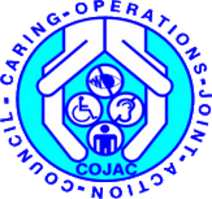 The logo for Cojac (Caring Operations Joint Action Council)